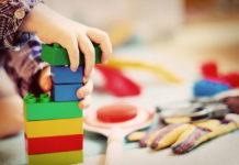Klocki magnetyczne - sensoryczna zabawka edukacyjna